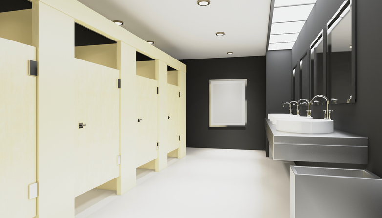 Office toilet refurbishment